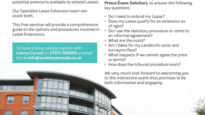 Free Seminar: Lease Extensions